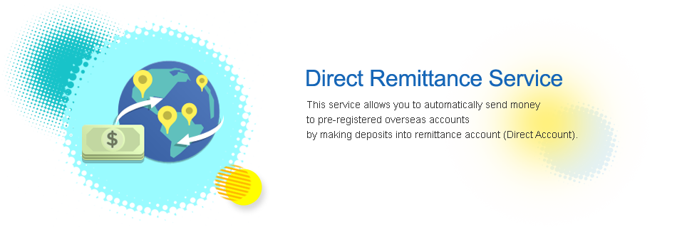 direct remittance service this service allows you to automatically sendd